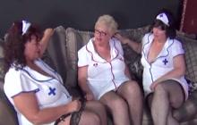 Slutty big busty nurses making love