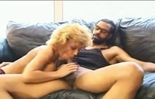 Busty mature blonde gets banged