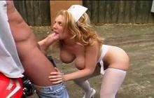 Hot Nurse Kiki Daire Makes Patient Feel Better