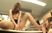 Asian office sluts