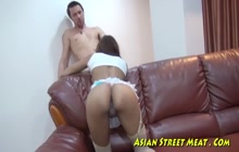 Anal fun with thai slut