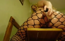 Fishnet squirt action