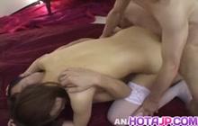 Asuka Kyono looks so fucking sexy in those stockings