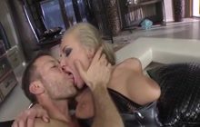 Two sexy chicks take it deep and hard