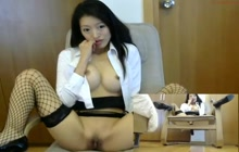Thai girl on webcam
