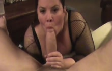 Mature BBW fucked by fat dick